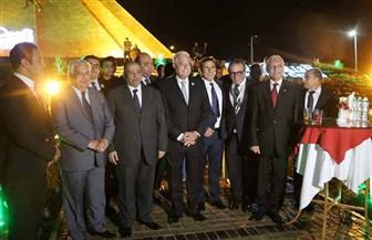 شعراوي وفودة يفتتحان ميدان إفريقيا وجدارية بشارع السلام في شرم الشيخ