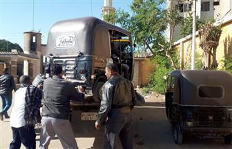 """حبس المتهمين بقتل موظف خلال حملة لضبط """"التوك توك"""" في الجيزة"""
