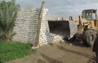 """""""أمن"""" الفيوم: إزالة 51 حالة تعد على أراض زراعية بمركزي إطسا ويوسف الصديق"""