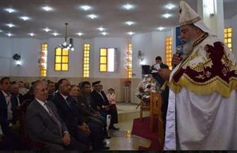 محافظ البحر الأحمر يشهد تنصيب القمص يوأنس أديب وكيلا لمطرانية الأقباط الكاثوليك| صور