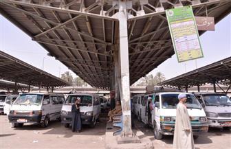 نقل موقف سيارات أسيوط - القاهرة إلى الشادر السبت المقبل