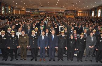 300 طالب وطالبة يمثلون 23 جامعة مصرية يقضون يوما كاملا مع طلبة كلية الشرطة