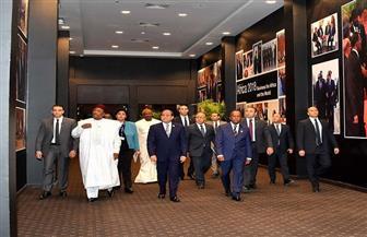 الرئيس السيسي يصل للمشاركة في جلسة الافتتاح الرسمية لمنتدى إفريقيا ٢٠١٨ بشرم الشيخ