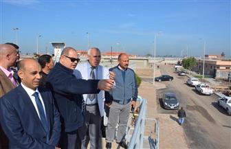 محافظ الغربية يتابع تنفيذ مشروعات الصرف الصحى بالمحلة الكبرى | صور