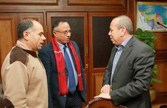 محافظ كفرالشيخ يستقبل مدير عام الثروة السمكية الجديد | صور