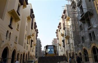 """وزير الإسكان: الانتهاء من تشطيبات 4 بلوكات سكنية بمشروع """"روضة السيدة"""" والباقى تباعا"""