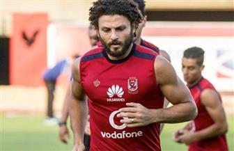 حسام غالي ينتظم في تدريبات الأهلي غدا