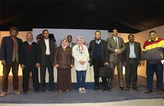 شعراء جامعة المنصورة في أمسية شعرية بمخيم فؤاد حداد | صور