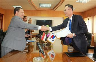 رئيس التليفزيون يلتقى القائم بأعمال سفارة كوريا والاتفاق على عرض مسلسل كوري