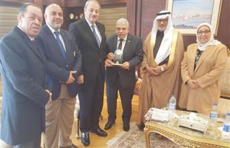 النائب العام يستقبل رئيس اتحاد الناشرين العرب