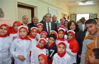 افتتاح معرض المنتجات البدوية بمؤسسة البنات بالمنصورة