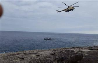 قوات الإنقاذ الليبية تنتشل جثتين جديدتين من صيادي المركب المصري  صور