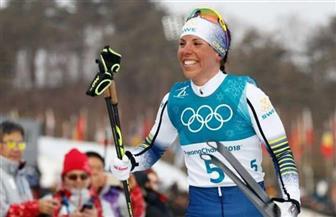 السويدية كالا تتوج بأول ميدالية ذهبية في الأوليمبياد الشتوي 2018