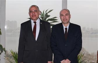 """وزير الري يستقبل رئيس تحرير """"بوابة الأهرام"""""""