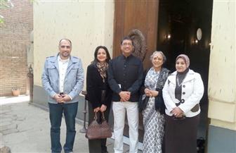 السفير الهندي بالقاهرة يزور متحف وقصر محمد على باشا في المنيل| صور