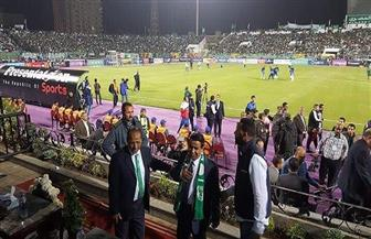 استقبال رائع للإعلامي يعقوب السعدي في استاد بورسعيد
