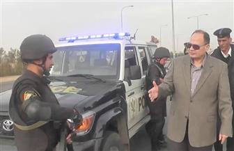 مديرو الأمن يتفقدون الخدمات التأمينية بالمحافظات | فيديو