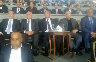 وزير الرياضة يشهد مباراة المصري وبطل زامبيا في الكونفدرالية الإفريقية