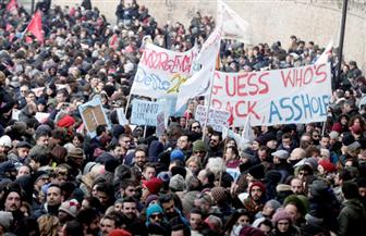 مظاهرة في إيطاليا احتجاجا على السلوكيات العنصرية ضد الأفارقة