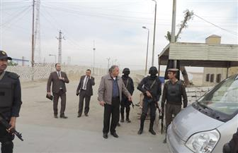 مدير أمن الفيوم يتفقد التمركزات الأمنية | صور