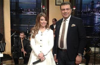 """غادة رجب ودوللى شاهين مع عمرو الليثى احتفالا بعيد الحب فى """"بوضوح"""".. غدا"""