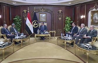 عبد الغفار يستقبل الأمين العام لمجلس وزراء الداخلية العرب لتطوير التعاون الأمنى العربى المشترك