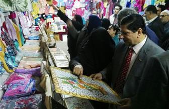 افتتاح معرض منتجات طلاب التعليم الصناعي بكفرالشيخ   صور