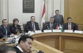 العربي: مصر تبحث زيادة العلاقات التجارية مع أوزبكستان   صور