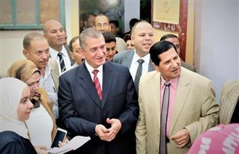 محافظ كفر الشيخ يتابع الحملة القومية لمحو الأمية   صور