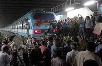 """مترو الأنفاق: توقف الحركة من محطة طرة البلد حتى """"السيدة زينب"""""""
