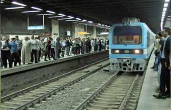 مترو الأنفاق: عودة حركة القطارات بالخط الأول حلوان - المرج في الاتجاهين