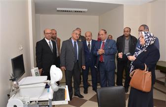 افتتاح وحدة فسيولوجيا الجهاز العصبي بمستشفى الأمراض العصبية بجامعة أسيوط | صور