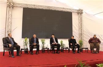 افتتاح فعاليات ملتقى مجالس اتحاد الطلاب الجامعات المصرية بجامعة المنصورة