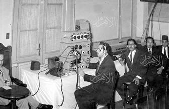 """""""بوابة الأهرام"""" تنشر صورا نادرة للإذاعة المصرية"""