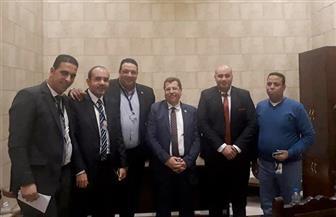 برلمانية الحركة الوطنية تعقد اجتماعا مع أمناء شباب الحزب بالجمهورية | صور
