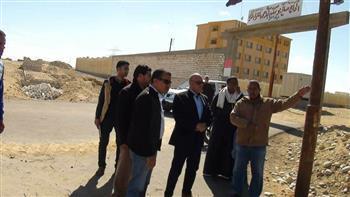 مراكز المنيا تواصل الاستعدادات لافتتاحات مشاريع العيد القومي