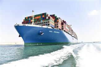 عبور 48 سفينة قناة السويس اليوم بحمولة 3 ملايين و500 ألف طن