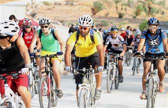 """على أنغام """"الأقصر بلدنا"""".. انطلاق مهرجان الدراجات الهوائية"""