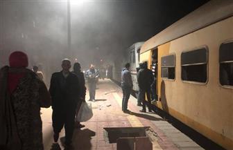 إصابة فني وحدوث تلفيات لتحرك جرار بدون سائق في محطة قطارات الإسكندرية