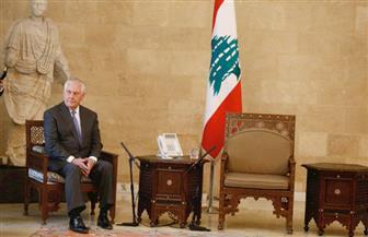وزير الخارجية الأمريكي يضطر للانتظار في قصر الرئاسة اللبناني