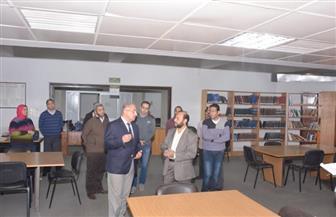 نائب رئيس جامعة أسيوط يتفقد المكتبات لوضع خطة تطوير شاملة | فيديو