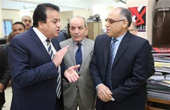 وزير التعليم العالي يتفقد المقر الإداري للوزارة.. ويشدد على تسهيل خدمة الطلاب   صور