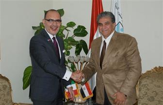 وزير البيئة يلتقي بسفير المكسيك لبحث سبل التعاون بين البلدين   صور