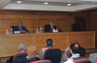 مدير أمن المنوفية يعقد اجتماعا بعمد المراكز لمناقشة الاستعدادات للانتخابات الرئاسية| صور