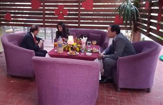 وزيرة السياحة تلتقي الملحق الثقافي الصيني لبحث تنشيط الحركة السياحة