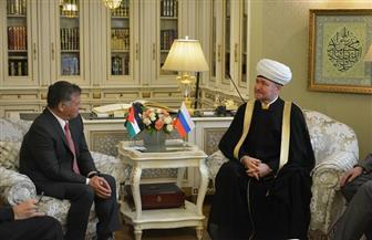 ملك الأردن لرئيس مفتي روسيا: الصوت القوي للإسلام الروسي المعتدل هو أمل الأمة الإسلامية