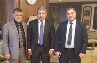 شريف فتحى يستقبل وزير المواصلات والنقل الليبي لبحث سبل التعاون المشترك في مجال التدريب