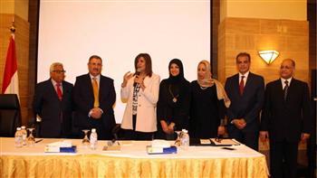 وزيرة الهجرة للجالية في جدة: مشاركتكم في التصويت دليل أنكم جزء من صنع القرار السياسي