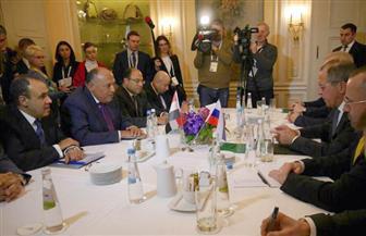 وزيرا خارجية مصر وروسيا يعقدان جلسة مباحثات ثنائية علي هامش مؤتمر ميونيخ للأمن   صور