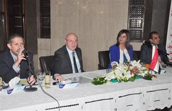 وزيرة الهجرة تبدأ جولتها بالخليج لحث المصريين على المشاركة بالانتخابات الرئاسية
